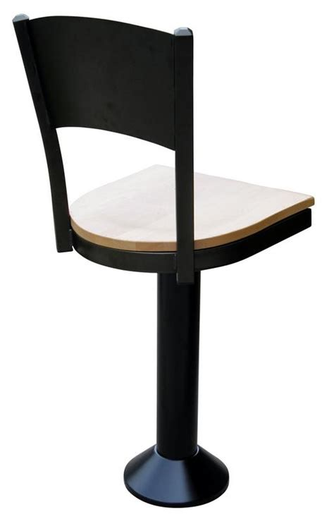 Floor Mounted Bar Stools With Back by Arch Back Soda Stools Floor Mounted Bar Stool