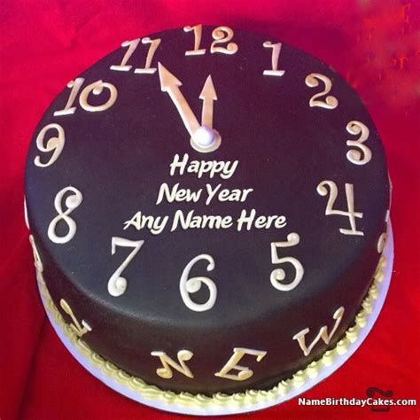 the cake new year happy new year countdown 2018 cake with name