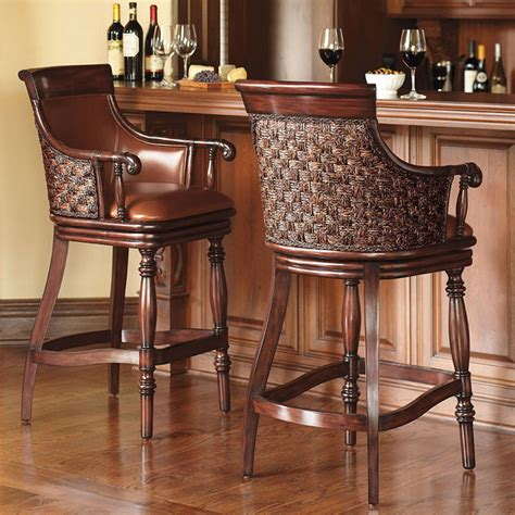 Frontgate Bar Stools by Marco Woven Back Bar Stool Traditional Bar Stools And Counter Stools By Frontgate
