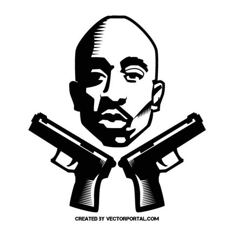 tupac vector graphics by vectorportal on deviantart