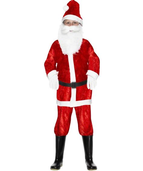 kid s mini santa claus costume kids christmas costumes