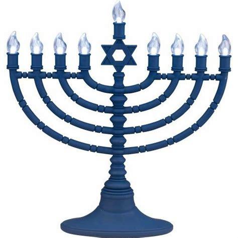 Hanukkah Outdoor Decorations Lights 11 Quot Battery Operated Lighted Led Blue Of David Chanukah Hanukkah Menorah Home Garden Decor