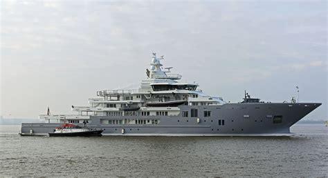 yacht ulysses ulysses undergoing further sea trials megayacht news