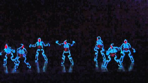 Tron Light Dance by Dance Neon Youtube