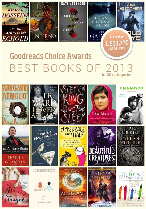best reads 2013 goodreads choice awards 2013 best books of the year