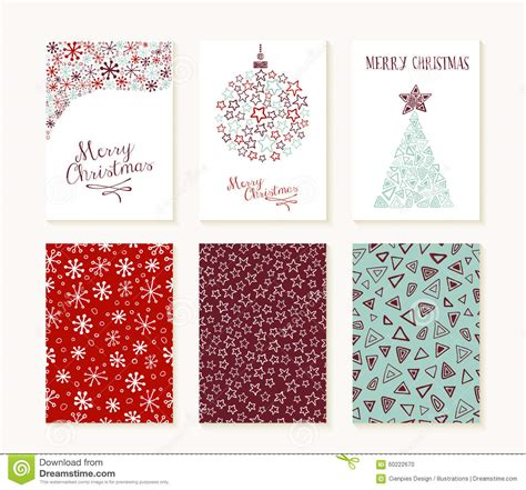 greeting card shapes templates merry outline greeting card pattern set stock
