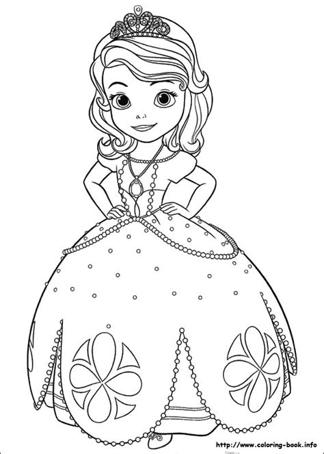 Sofia The First Coloring Pages Fotolip Com Rich Image Princess Sofia Coloring Pics