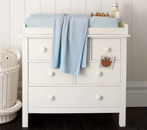 Dresser Change Table Kendall Dresser Changing Table Topper Simply White Pottery Barn Au