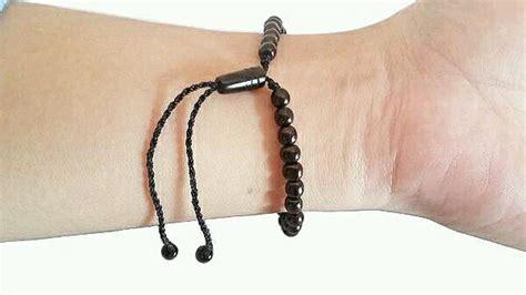 gelang koka kokka original hitam untuk pria wanita trendi