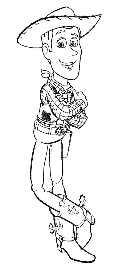 toy story woody images az coloring pages