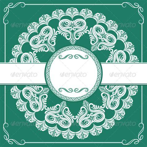 wedding invitation ornament circles free umembeso invitations 187 dondrup