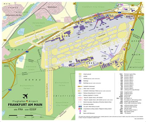 frankfurt airport map frankfurt airport