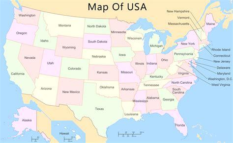 whole map of usa usa map all world maps
