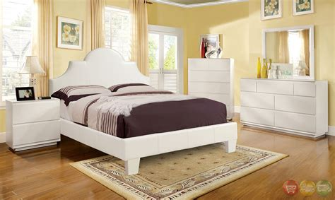 white platform bedroom sets aubonne european white platform bedroom set with headboard