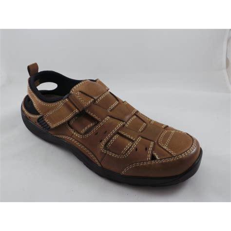 closed toe sandal lotus mens eldridge velcro closed toe sandal lotus