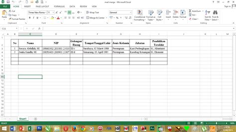 cara membuat mail merge office 2013 cara membuat mail merge word 2013 lengkap sekedar trick