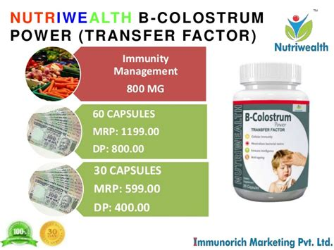 Antibodi Vitamin Mineral Enzim Healthy Care Colostrum big business opportunity in health nutrition industry by