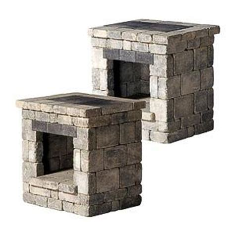 Unilock Fireplace Kits by Cordova Wood Boxes Outdoor Kits Pavers Retaining Walls Niemeyer S Landscape Supply