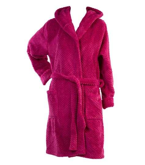 bed bath and beyond bathrobes soft waffle fleece bed jacket or dressing gown robe ladies