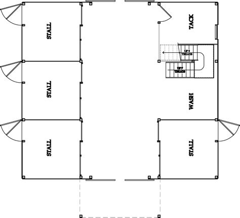 stable floor plans horse barn floorplans house plans home designs