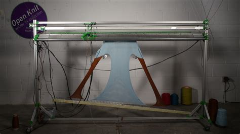 knitting machine for this knitting machine is like a 3d printer for clothes