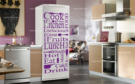 deco sticker frigo