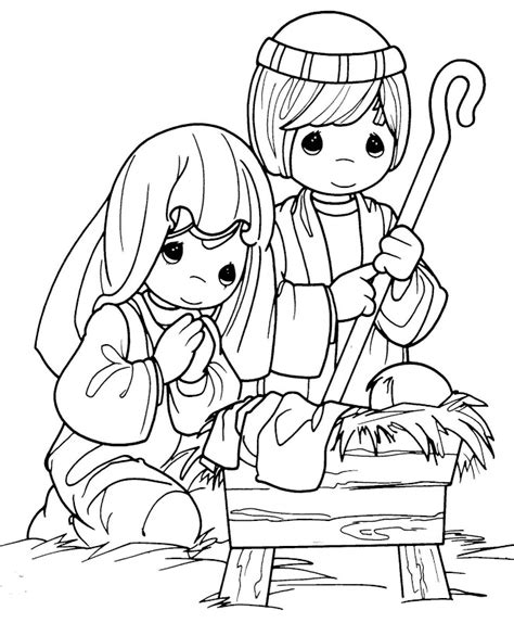 baby jesus coloring pages for kids az coloring pages