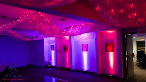 draping and lighting rentals allcargos tent event rentals inc ceiling draping with