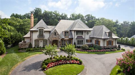 Townhouse Plans For Sale by 14 000 Square Foot French Country Mansion In Bethesda Md