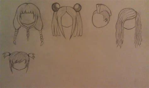 chibi hairstyles drawing pinterest chibi and hairstyles chibi hair styles by ambersidolmind on deviantart