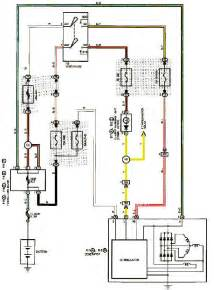 1999 lexus es300 charging system diagram schematic