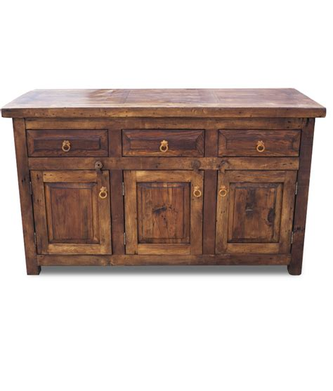 buy christopher rustic vanity with 3 drawers and doors