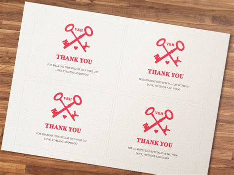 4 best images of thank you cards 4x6 free printable