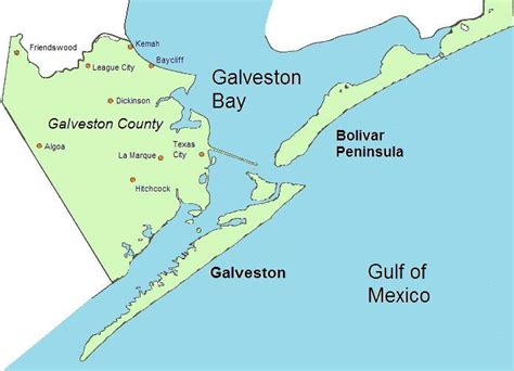 galveston texas on map file galveston county map jpg