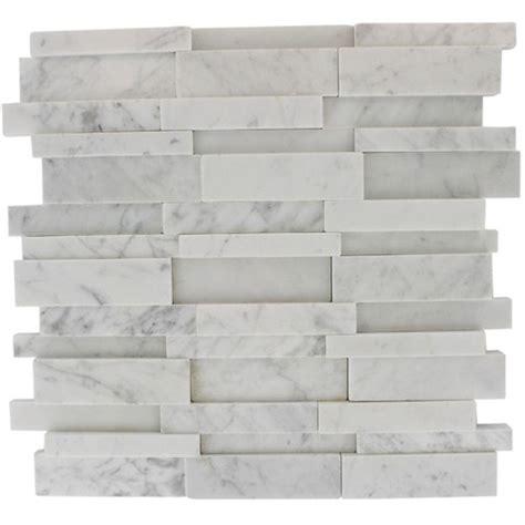 splashback tile dimension 3d brick white carrera stone 12