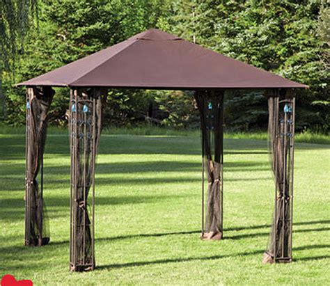 8 x 10 canopy gazebo cheap outdoor gazebo 8 215 8 garden landscape