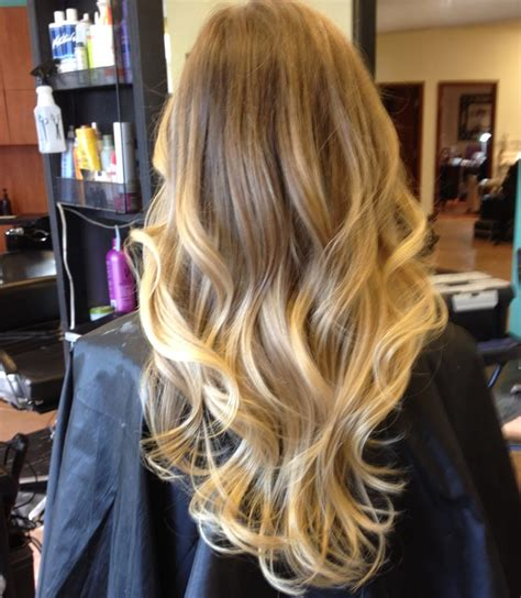 how to section hair for ombre sombre soft ombre hair color for blonds with natural