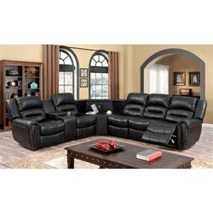 Leather Sofas Wales Furniture Of America 3 Pc Wales Contemporary Style