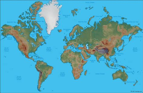world s picture of the map of the world