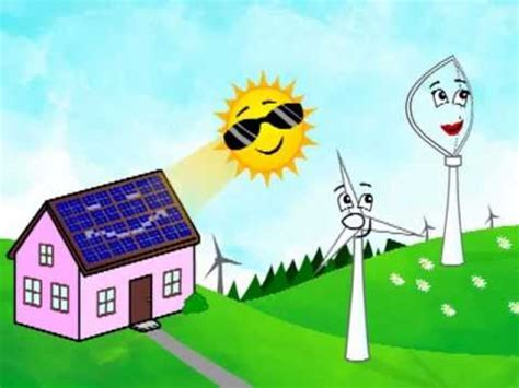 Future Lighting Solutions Careers Clean Green Energy Cartoon Clean Green Energy