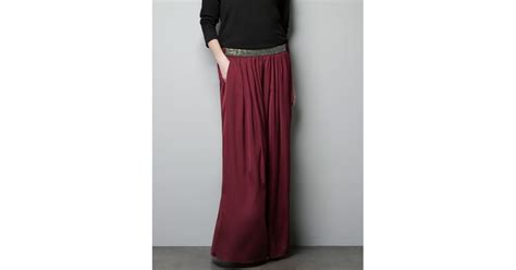 beaded skirt zara zara skirt with beaded waist in lyst