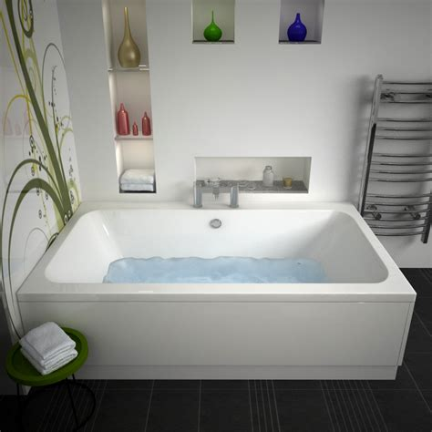 buy bathtubs online vernwy 1800x1100 jumbo double ended bath buy online at