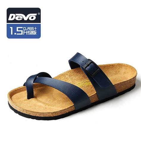 trendy sandals for devo 2014 summer open toe slides fashion mens flip