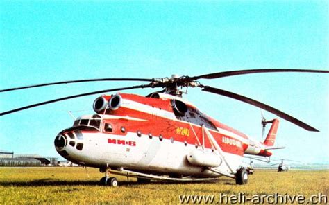 mil mi 6 hook helicopter heli archive ch