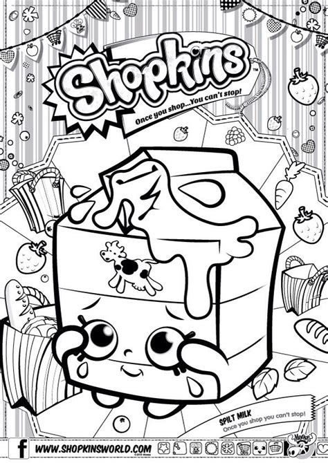 shopkins coloring pages birthday 29 best images about shopkins coloring pages on