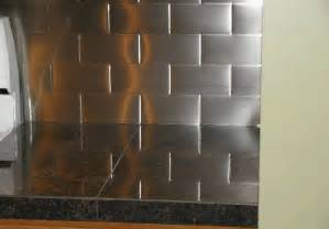 stainless steel kitchen backsplash tiles stainless subway tile backsplash kitchen