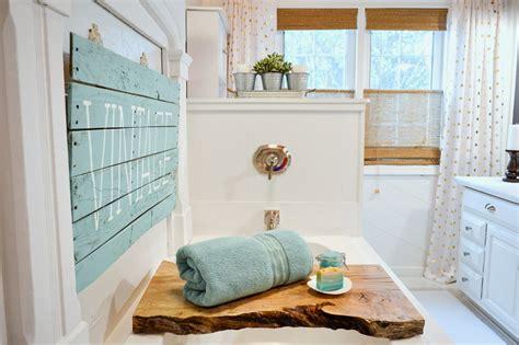 better homes and gardens bathrooms easy breezy summer aqua summer bathroom refresh