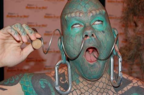 the human lizard 10 most modifications you just to see