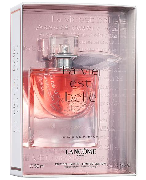 lancome la vie est special editions new fragrances
