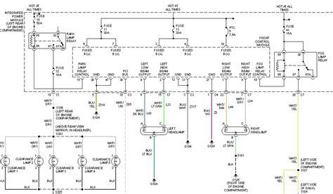 2004 2500 headlight wiring diagram 41 wiring diagram images wiring diagrams 2004 dodge 2500 ram diesel quadcab 4x4 heavy duty driver side headlight high beam will not work